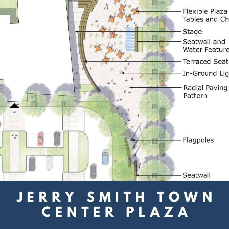 Jerry Smith Town Center Plaza
